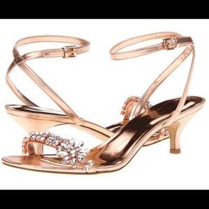 Nine West Rosegold heels